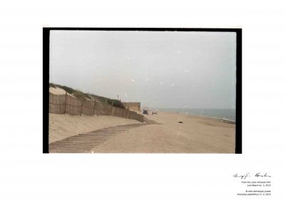 Ph. D. REMIGIJUS VENCKUS - from the cycle Amnesia Film - Lost Beach 3 - 2013