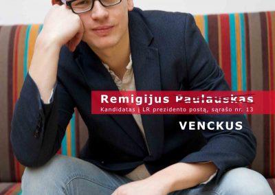 Ph.D. Remigijus Venckus 'My Friend as a President 2014 -13