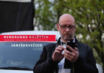 Ph.D. Remigijus Venckus 'My Friend as a President 2014 -14