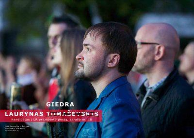 Ph.D. Remigijus Venckus 'My Friend as a President 2014 -18