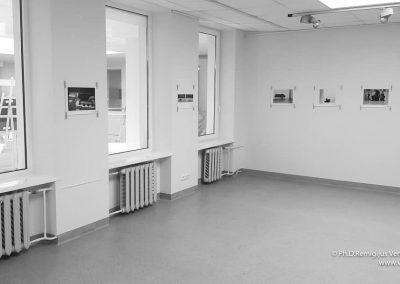 Ph.D. Remigijus Venckus' exhibition Location of Diaries no 3-2018-11